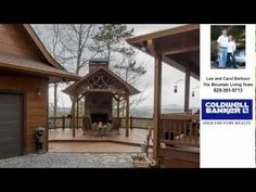 ▶ Raven Ridge Mineral Bluff, GA Presented by Lee and Carol Barbour The Mountain Living Team. - $473000 / 3br - Mountain Cabin Style Home for Sale (Mineral Bluff, GA)