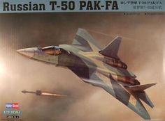 Hobby Boss 87257 1/72 Russian T-50 PAK-FA  #HOBBYBOSS