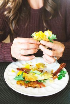 Japanese Yam Breakfast Sandwich