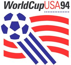 The 1994 FIFA World Cup, hosted by the United States, was the highest attended World Cup in history. Americans might not be huge soccer fans, but we are the world's best bandwagoners. World Cup 94, World Cup Logo, Fifa World Cup, World Football, Soccer World, Football Things, Fifa Football, Football Art, Sport Football