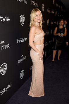 Kate Hudson em festa em Los Angeles, nos Estados Unidos (Foto: Jason Merritt/ Getty Images/ AFP)