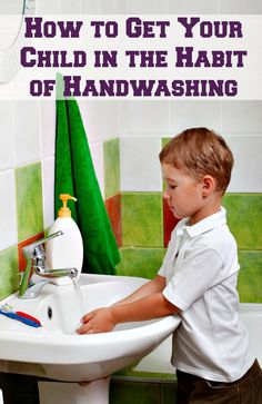 Getting your child to wash their hands throughout the day can be difficult, especially when they spend most of their time getting them dirty. These tips and tools will help you explain to your child the importance of handwashing and staying germ-free.