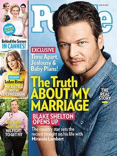 Blake Shelton Married to Miranda Lambert, Talks Relationship Rumors