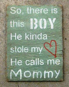 Te amo mucho mi hijo