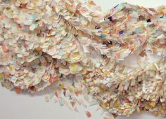 Amazing use of paper and fabric by Britt Bass