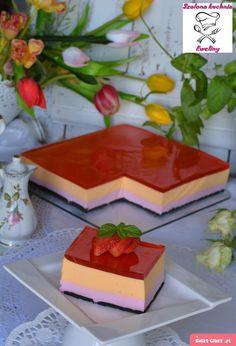 Ciasto kolorowa pianka - Swiatciast.pl