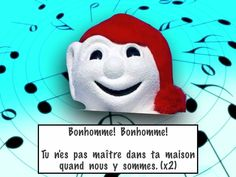 The classic French song using Bonhomme Carnaval. The music is by the Kiboomers and available on itunes. I haven& been able to track down who to contact for . Music Activities, Winter Activities, Kindergarten Activities, Teaching French Immersion, French Poems, Family Valentines Day, Primary Classroom, Classroom Ideas, School Songs