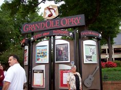 Me at Grand Ole' Opry - about 2009
