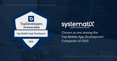 We are highly delighted to inform you that our company Systematix Infotech Pvt. Ltd. has been chosen as one of the Mobile App Development Companies of 2020. It's a generous gesture we received from the Top Developers, and we are so proud of our employees who made this possible. IT industry is evolving rapidly, and such recognition helps us to show our capability. They choose the industry's key players, but today, we are selected as one among them. Proud and Thankful! Key Player, Mobile App Development Companies, Thankful, Digital, Top, Crop Shirt, Shirts