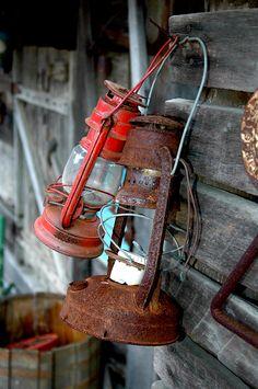 Old Lanterns by Stew Little
