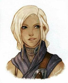 Female Rogue - Pathfinder PFRPG DND D&D d20 fantasy
