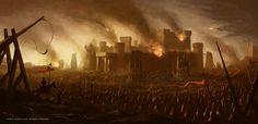 Avalon Lords - Castle Siege by RaymondMinnaar on DeviantArt