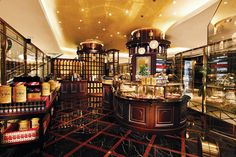 A special treat - TWG Tea Boutique in Singapore. I love my tea.