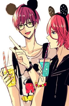 Mikado and Momotaro