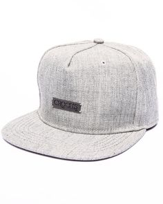 Clean Crooks Metal Badge Fitted Cap by Crooks & Castles