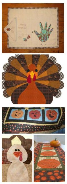 75 Thanksgiving Quilts: Fantastic Fall Quilts and Turkey Appliques - Bring a cozy warmth to your Thanksgiving feast with our collection of 75 Thanksgiving Quilts Fantastic Fall Quilts and Turkey Appliques. The earthy colors and handmade charm of these quilt and applique projects will give you that fall feeling and help you celebrate the harvest in style.