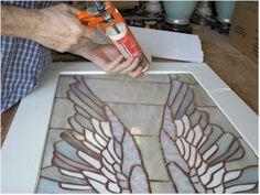 How to build a frame for stained glass