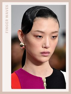 Fashion Week Hair - Salvatore Ferragamo | allure.com