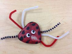 Ladybug rock.