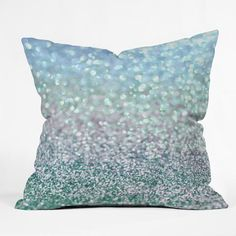 Lisa Argyropoulos Blue Mist Snowfall Duvet Cover | DENY Designs Home Accessories