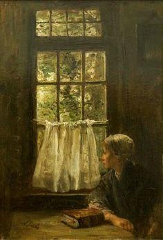 Jozef Israels 'Sunday morning'