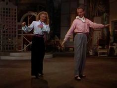"""▶ Ginger & Fred in """"Bouncing The Blues"""" - YouTube"""