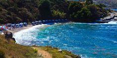 Пляж Пипитос Кассиопи Corfu Island, Beaches, Greece, Explore, Water, Outdoor Decor, Greece Country, Gripe Water, Sands