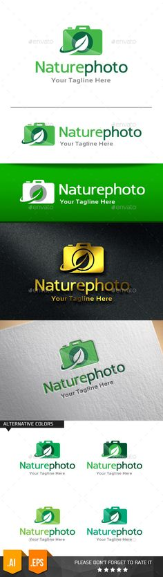 Nature Photo - Logo Design Template Vector #logotype Download it here: http://graphicriver.net/item/nature-photo-logo-template/11258189?s_rank=941?ref=nesto