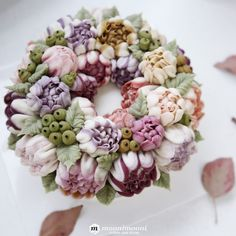 Buttercream Cake Decorating, Buttercream Flower Cake, Plate Presentation, Incredible Edibles, Edible Cake, Floral Cake, Fancy Cakes, Cake Cookies, Beautiful Cakes