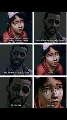 Why did you have to die Lee?! Why?!