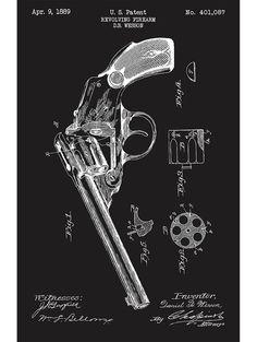 Wesson Revolving Firearm - D. B. Wesson - 1889