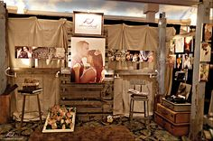 Trade show Inspiration: Almondleaf Studios. Lots of great ideas + fun details!