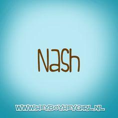 Nash (Voor meer inspiratie, en unieke geboortekaartjes kijk op www.heyboyheygirl.nl)
