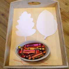 Taming the Goblin: simple autumn art for toddlers