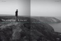 Songlines art direction + editorial design by Ben Serbutt, via Behance