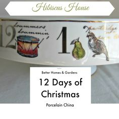 Hibiscus House: 12 Days of Christmas Newest China