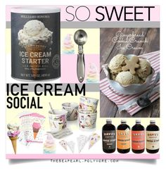 Ice Cream Social Starter Kit By Theseapearl Liked On Polyvore Featuring Interior