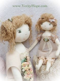 Rosie Hope & Little Lucy pdf doll pattern by Verity by VerityHope