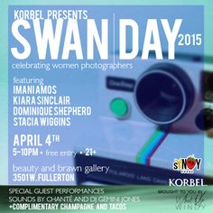 It's that glorious time of year again. SWAN (Support Women Artists Now) Day 2015 will be all about women photographers. We will feature work from photographers Imani Amos, Kiara Sinclair, Stacia Wi. Im Excited, Female Photographers, Special Guest, Swan, Bring It On, My Favorite Things, Celebrities, Amp, Artists