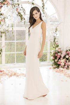 18686 Wedding Dress from Kelsey Rose | hitched.co.uk Stunning Wedding Dresses, White Wedding Dresses, Bridesmaid Dresses, Prom Dresses, Bridesmaids, Kelsey Rose, Make Your Own Dress, Bridal Style, One Shoulder Wedding Dress
