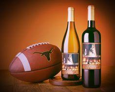 Get prepared for football season by drinking lots of WINE! #HookEm #UTfootball