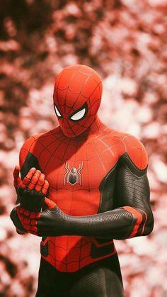 Spiderman Far From Home suit All Spiderman, Spiderman Pictures, Amazing Spiderman, Marvel Comic Universe, Marvel Art, Marvel Heroes, Mcu Marvel, Captain Marvel, Avengers Wallpaper