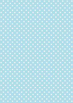 FREE printable polka dot pattern paper ^^
