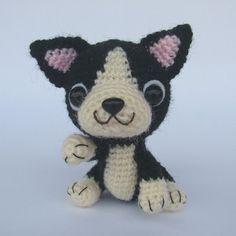French Bulldog Puppy PDF Crochet Pattern by jaravee on Etsy