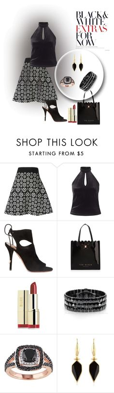 """""""Untitled #2013"""" by swc0509 ❤ liked on Polyvore featuring FAUSTO PUGLISI, Miss Selfridge, Aquazzura, Ted Baker, Milani and Isabel Marant"""