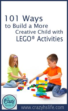 Everyone loves LEGO® bricks. They are an amazing tool for your homeschool as well. We have 101 reasons LEGO® activities are perfect for your family and your classroom. Stem Projects For Kids, Lego Activities, Lego Brick, Creative Kids, Bricks, Amazing, Awesome, Homeschool, Classroom