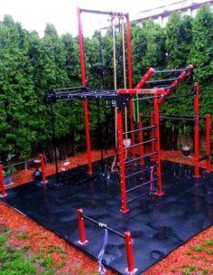 Home Gym - . - Sports & Outdoors - Sports & Fitness - home gym Outdoor Fitness Equipment, Home Gym Equipment, No Equipment Workout, Diy Home Gym, Best Home Gym, Calisthenics Gym, Backyard Gym, Dream Gym, Home Gym Design