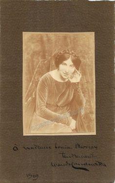 Landowska, Wanda - Signed photo