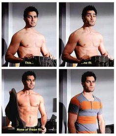 Teen Wolf- Derek Hale trying on Stiles' clothes. I loved the relationship between Sterek in Seasons 1 & Stiles Teen Wolf, Teen Wolf Cast, Teen Wolf Derek Hale, Teen Wolf Boys, Teen Wolf Memes, Teen Wolf Quotes, Teen Wolf Funny, Tyler Hoechlin, Dylan O'brien