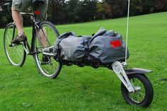 The touring trailer Cycling Accessories, Touring, Baby Car Seats, Baby Strollers, Bike, Bicycles, Sport, Cars, Baby Prams